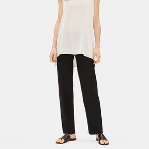 Eileen Fisher Super Soft Pants in Black Size PM